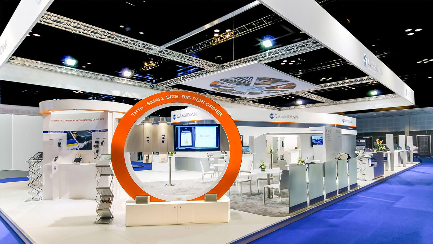 Exhibition Stand Website : Cassidian an eads company exhibition stand in dubai realis me